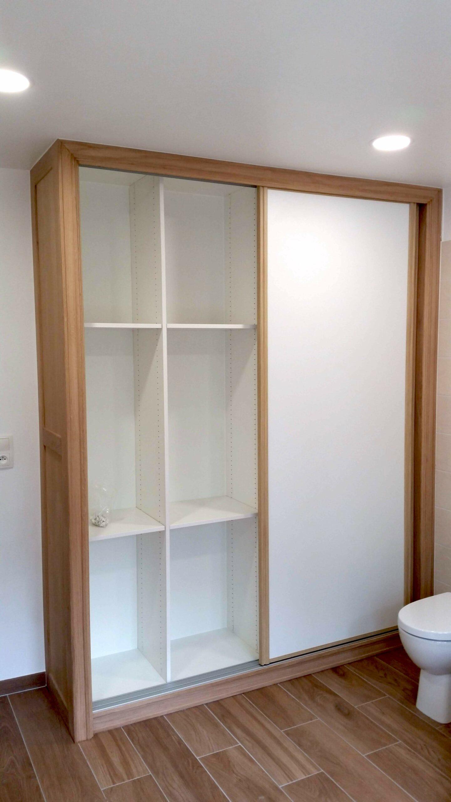Fabrication et pose d'un placard dans une salle de bain image_2