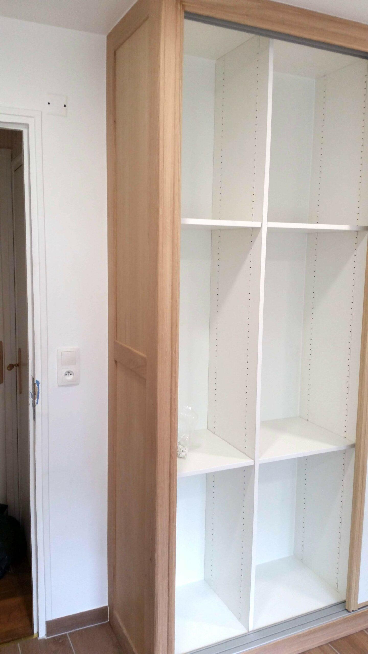 Fabrication et pose d'un placard dans une salle de bain image_3